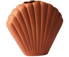 Vaso Shell in terracotta Vases, Spring, Decoration, Shells, Interior, Products, Living Room, Art, Unique Home Decor