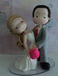 Image result for fondant people kissing