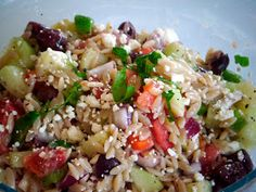 Recipe Addiction: Greek Orzo Salad