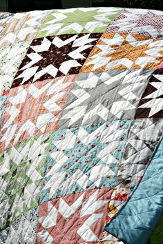 This quilt, my variation of a traditional Memory Block quilt, is the perfect design to showcase your favourite fabrics in all their beauty. Spruce it up with some funky florals, or let the boldness…