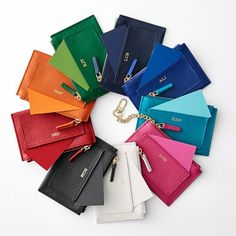 Vivid Zip Card Case | Mark and Graham