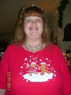 Me In My Gingerbread Top! They look Zanny like Josh!
