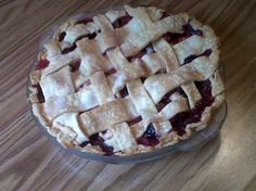 Bumbleberry pie is an example of a healthier, fruit-filled pie becoming more popular among the Amish.