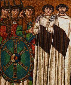 6th century Byzantine mosaic, St Vitale, Ravenna
