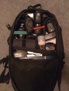 DIY Camera Backpack