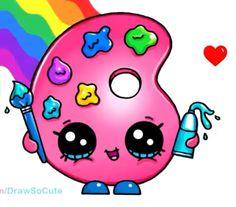 kawaii drawings draw drawing shopkins cartoon doodles easy dessin pauline paint anime emoji licorne paulette unicorn doodle cupcake para awesome