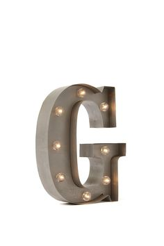 Light up your life with our small letter marquee lights! <br> Available in the full alphabet, spell out anything & everything! <br> Each measures 23cmH- width varies with each letter. <br> Requires 3 x 1.5 AA Batteries. Batteries not included. <br> Composition: 60% Metal, 30% MDF, 10% Plastic <br/>
