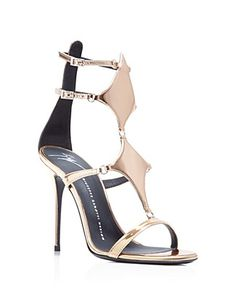 Giuseppe Zanotti Cage Strappy High Heel Sandals