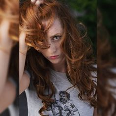 Another peak at my Ginger project! Scissors, Fossil, Long Hair Styles, Projects, Photography, Beauty, Instagram, Fashion, Log Projects