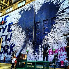 Mr. Brainwash - We love New York - NYC, NY, USA - September, 2014 (LP)