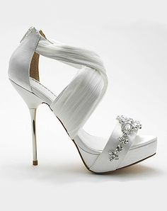 Strappy Wedding Shoes by My Glass Slipper - Bouquet Bouquet - Shoes