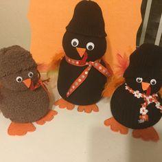 Sock turkeys! So cute!