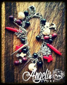 Dusk Till Dawn Charm Bracelet Dusk Till Dawn, Charmed, Bracelets, Stuff To Buy, Jewelry, Jewlery, Jewerly, Schmuck, Jewels