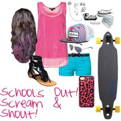 """""""First day of SUMMER!!!"""" by onedirection-is-my-world on Polyvore"""
