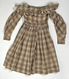 antique homespun child's dress