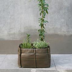 Bac sac, great design: create a garden on a balcony