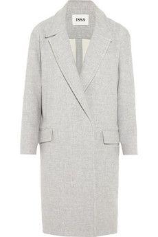 Issa Robin oversized wool-blend coat   NET-A-PORTER