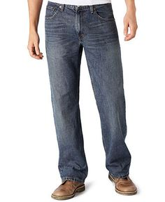 Levi's Jeans, 559 Relaxed Straight, Indie Blue - Mens Jeans - Macy's