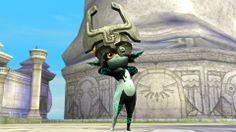 Midna assist trophee in Super Smash Bros ( #WiiU screenshot) <- DYGUTSGUSHSSKUYATPITSYDLDETHH