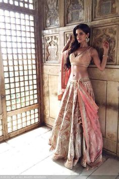 Beauty Pictures: Party wear and dresses Dress Indian Style, Indian Dresses, Indian Outfits, Indian Bridal Lehenga, Indian Beauty Saree, Bollywood Actress Hot, Bollywood Fashion, Modelos Pin Up, Lehenga Style