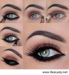 Makeup for blue eyes - BeaLady.net