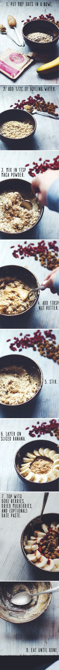 SUPER Superfood Oats ||| Brewing Happiness