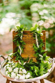 Ruffled - photo by Redfield Photography http://ruffledblog.com/whimsical-poconos-woodland-wedding