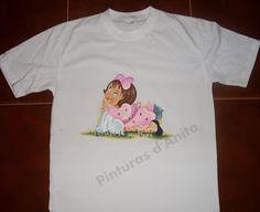 Pinturas d'anita - tela de la pintura: Suéteres / Camisetas