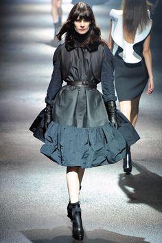 Lanvin Fall 2012 Ready-to-Wear Fashion Show - Querelle Jansen (Women)