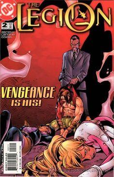 THE LEGION #2 DC comics cover