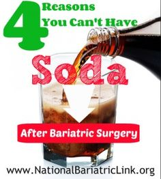 reasons soda coke pepsi carbonation is bad after bariatric surgery gastric bypass surgery gastric sleeve surgery lap band surgery Gastric Sleeve Diet, Gastric Sleeve Surgery, Gastric Bypass Surgery, Bariatric Eating, Bariatric Recipes, Bariatric Surgery, Vsg Surgery, Diet Recipes, Invitations