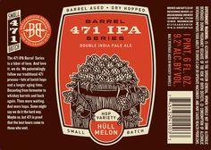 Breckenridge Barrel 471 IPA Hull Mellon