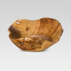 Natural Root Wood Bowl Medium - Threshold™ : Target