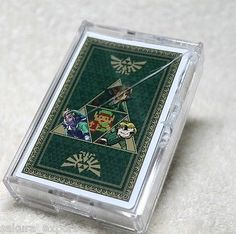 NIB The Legend of Zelda Playing Cards  *case has crack