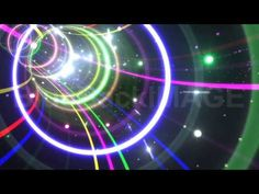 Stock Footage : Neon Tube Tunnel AS5