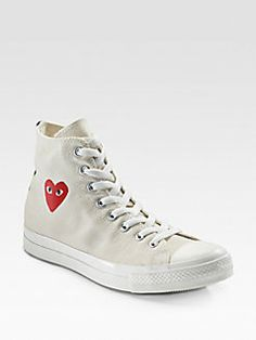 17e3f76161c1 Comme des Garcons - High-Top Canvas Sneakers Canvas Sneakers