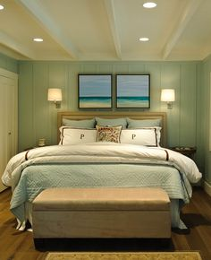 10 Bold But Soothing Turquoise Bedroom Interior Design Ideas - nice styling!