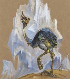 Peter De Seve  Secretary Bird, Ice Age