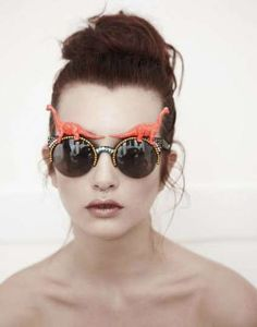 The SPANGLED S/S 2013 Collection Preview is Jazzy #sunglasses trendhunter.com