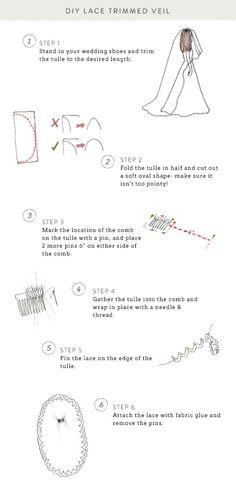 How to make a veil