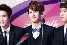 Baekhyun #EXO1stAward (cr polar light)