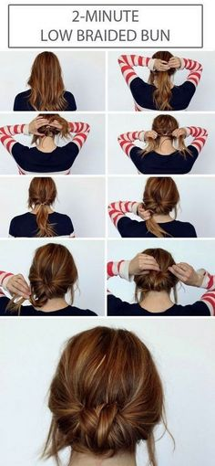 quick-hairstyle-tutorials-for-office-women-7