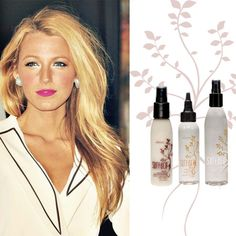 RADIANT BLONDE           Blake Lively's varying blonde hues are gorgeous for summer. To get the look, while protecting your color and getting a healthy shine, work Trinity Protein Cream and Bassu Hydrating Oil into hair before heat styling.  After blow drying your locks, finish off your look with Bassu Shine Spray, which adds shine while detangling and protecting hair.  #Fairfax   #Va   #Hair   #Salon   #Haircolor   #Best   #NOVA   Show less
