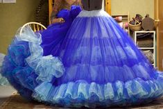 "Inside My ""Cinderella Ball Gown Remake – Bella Maes Sewing Corner Cinderella Cosplay, Cinderella Gowns, Cinderella Movie, Cinderella 2015, Tutu Ballet, Hoop Skirt, Gown Pattern, Skirt Patterns Sewing, Cosplay Costumes"