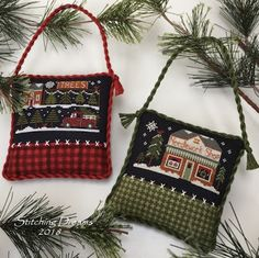 Stitching Dreams: Two new ornaments and more random thoughts