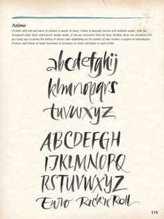 hand lettering alphabet - Penelusuran Google