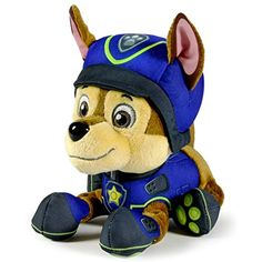 Nickelodeon Paw Patrol - Plush Pup Pals- Chase Model 20985764 for sale online Paw Patrol Pups, Paw Patrol Party, Toy Cars For Kids, Best Kids Toys, Nickelodeon Kids Shows, Paw Patrol Stuffed Animals, Teddy Bear Toys, Teddy Bears, Cool Toys