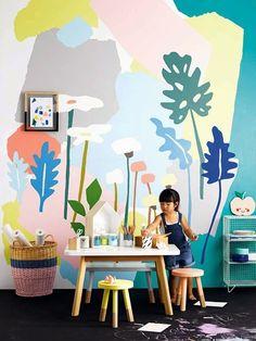 Kids mural - playroom