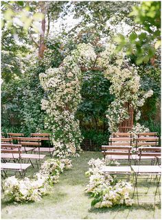 Dogwood wedding ceremony fine art wedding ceremony at The Corson Building by Gather Design Company Ceremony Arch, Wedding Ceremony, Wedding Day, Church Wedding, Wedding Tips, Wedding Planning, Dream Wedding, Floral Arch, Ceremony Decorations
