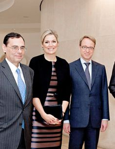 9 November: Queen Máxima was in Basel in her role of United Nations Secretary-General's Special Advocate for Inclusive Finance for Development where she had a meeting with several heads of worldwide Central Banks to improve the access to financial services.
